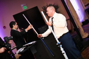 All Events DJ with Unique Air Cannon Idea for Wedding