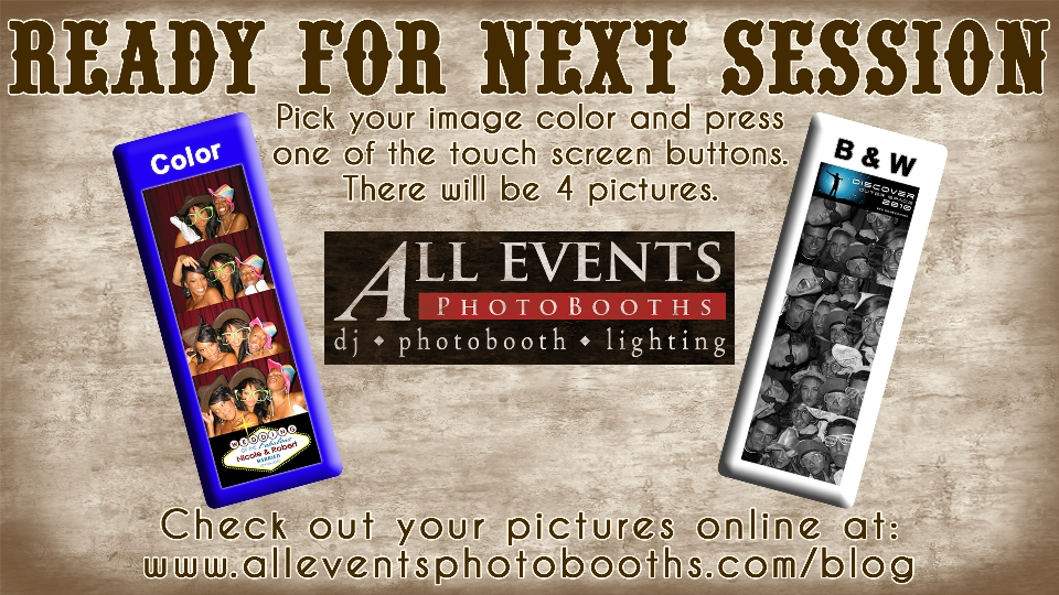 Two Color Option Photo Booth