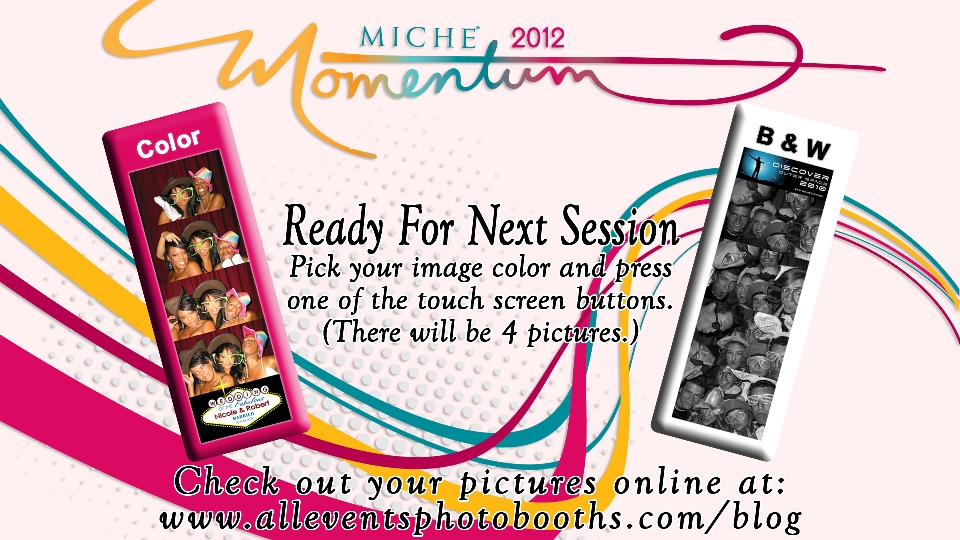 Start Screen for Corporate Event Photo Booth