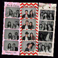 Ben and Chelsea's Photo Booth