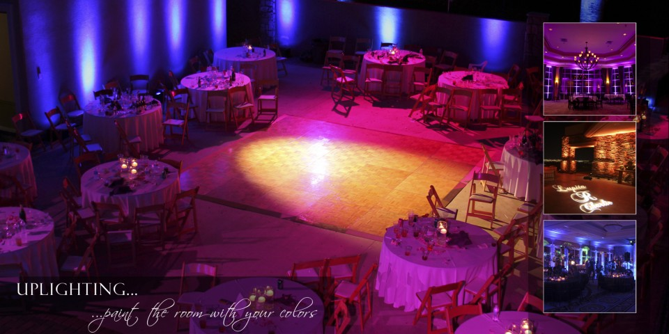 Uplighting for Weddings and other Events